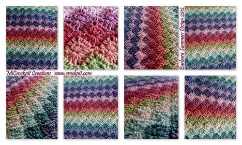 Stitch question...wool-eater vs. whatever this is.... - CROCHET