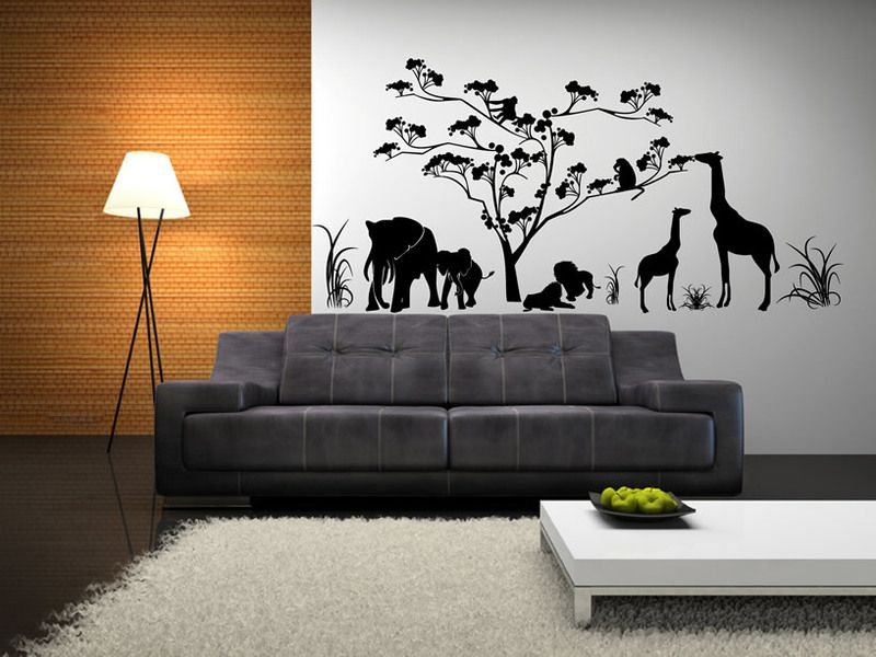 Artistic Ideas Of Wall Decorations For Living Room Picture