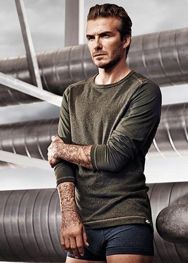 """David Beckham Bodywear"" con HM  http://fashionrunnerpoint.com/david-beckham-bodywear-con-hm-ritorna-al-superbowl/"