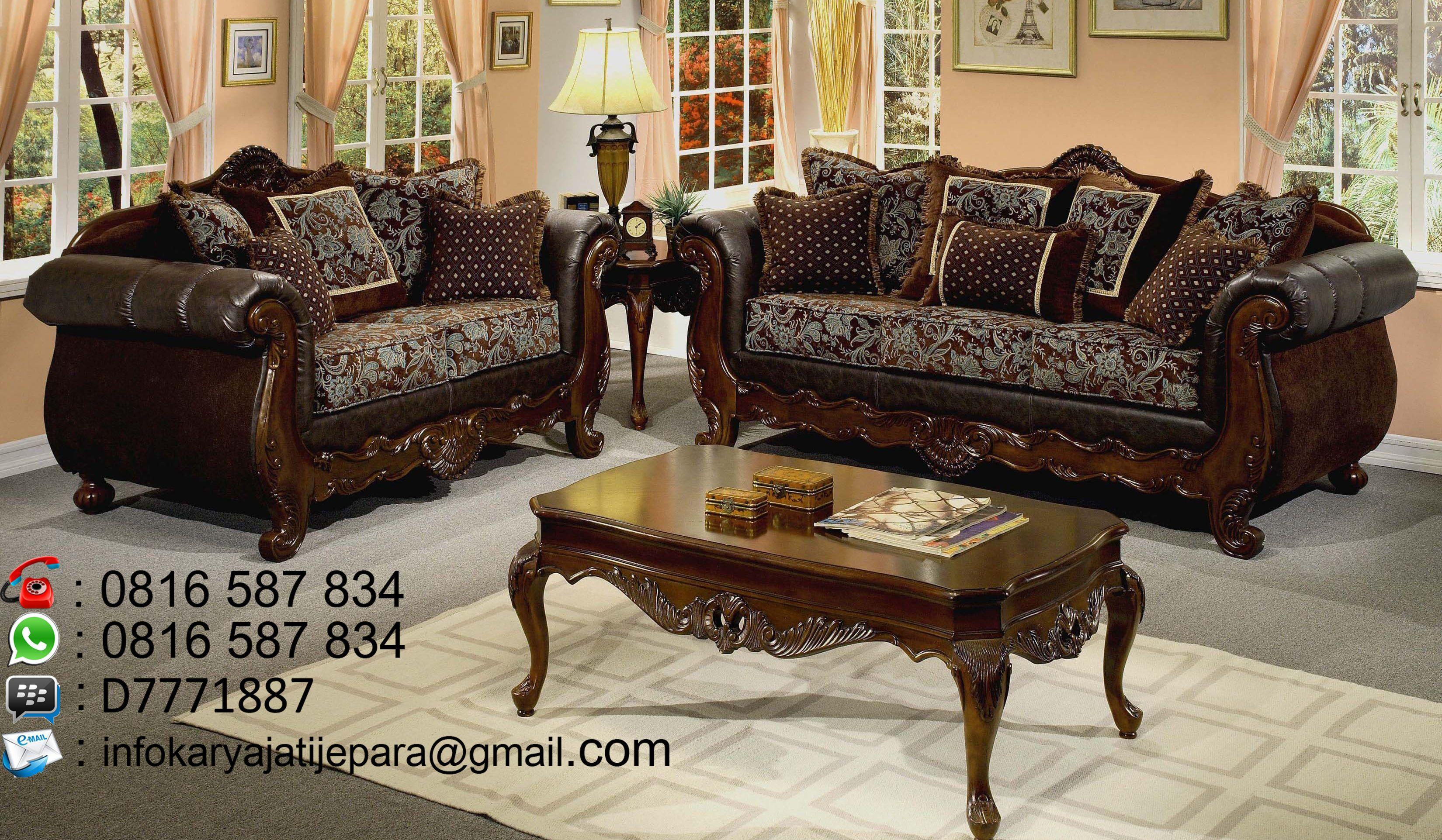 Kursi Tamu Sofa Kayu Jati Ukir Mewah Ini Dibuat Oleh Pengrajin Kami Yang Sangat Handal Dib Ruang Keluarga Mewah Furnitur Ruang Keluarga Dekorasi Ruang Keluarga #serta #living #room #set