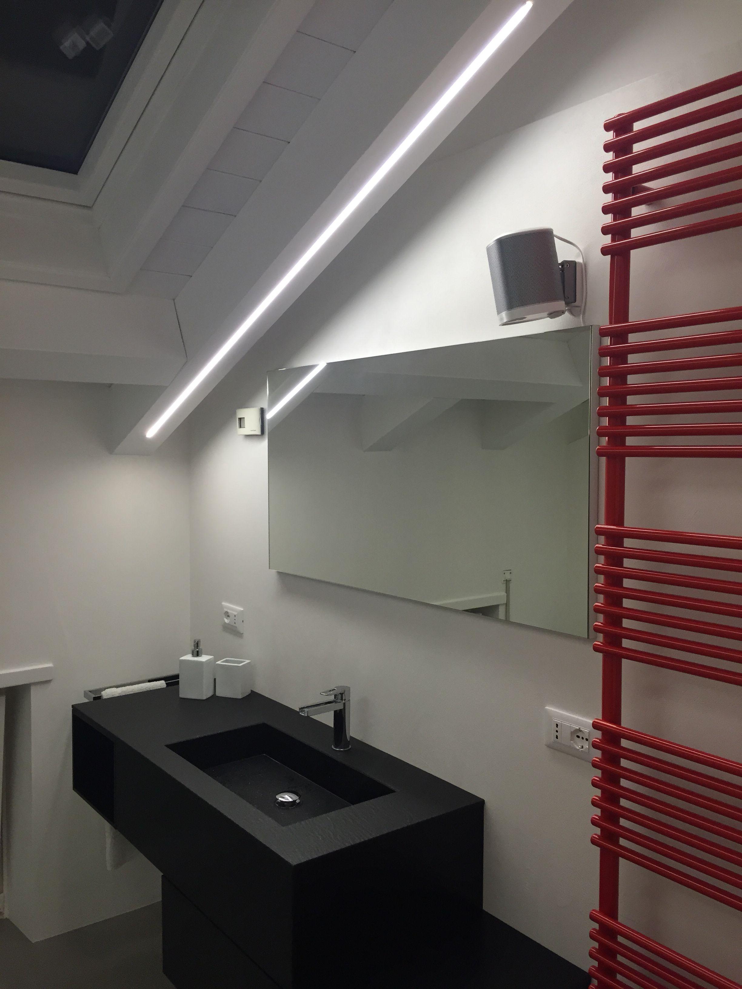 Abitazione privata illuminazione incasso taglio luce - Illuminazione bagno led ...