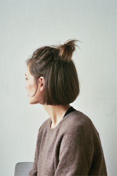 Dutt kurze haare anleitung