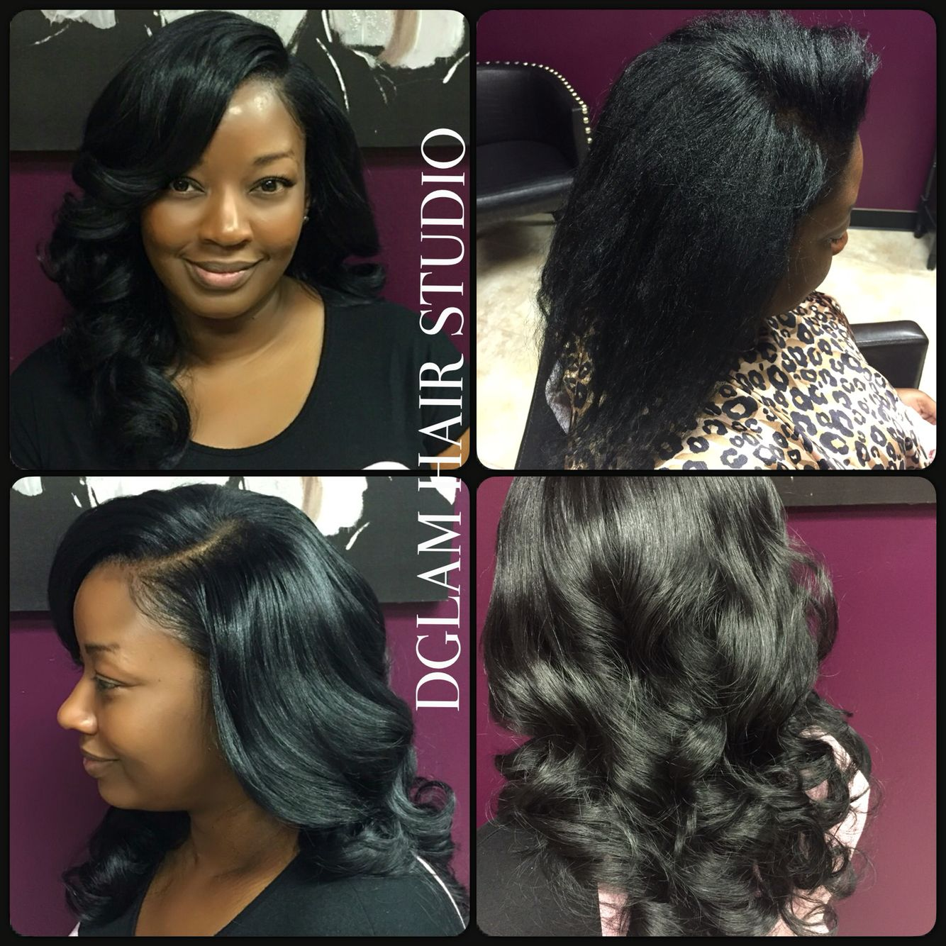 Full Sewin Weave Body Curls Body Waves Long Hair Houston Hair Salon Houston Hairstylist Dglamhairst Natural Hair Styles Hair Studio Long Hair Styles