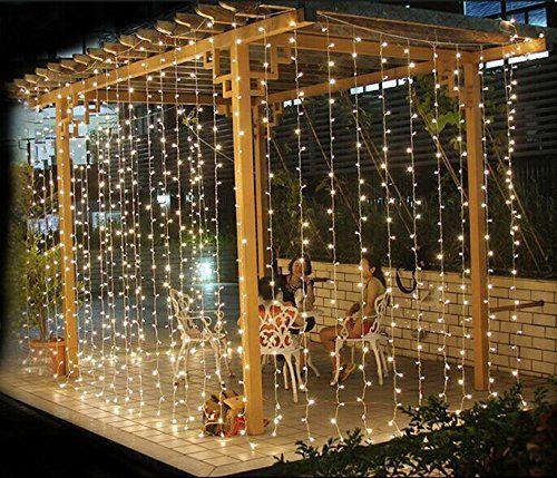 Lightess LED Curtain String Fairy Lights   600 LEDs Lightess Https://www.