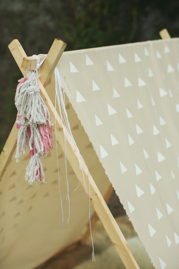 Be Still My Heart 10 DIY Play Tents and Teepees : play tent pattern - memphite.com