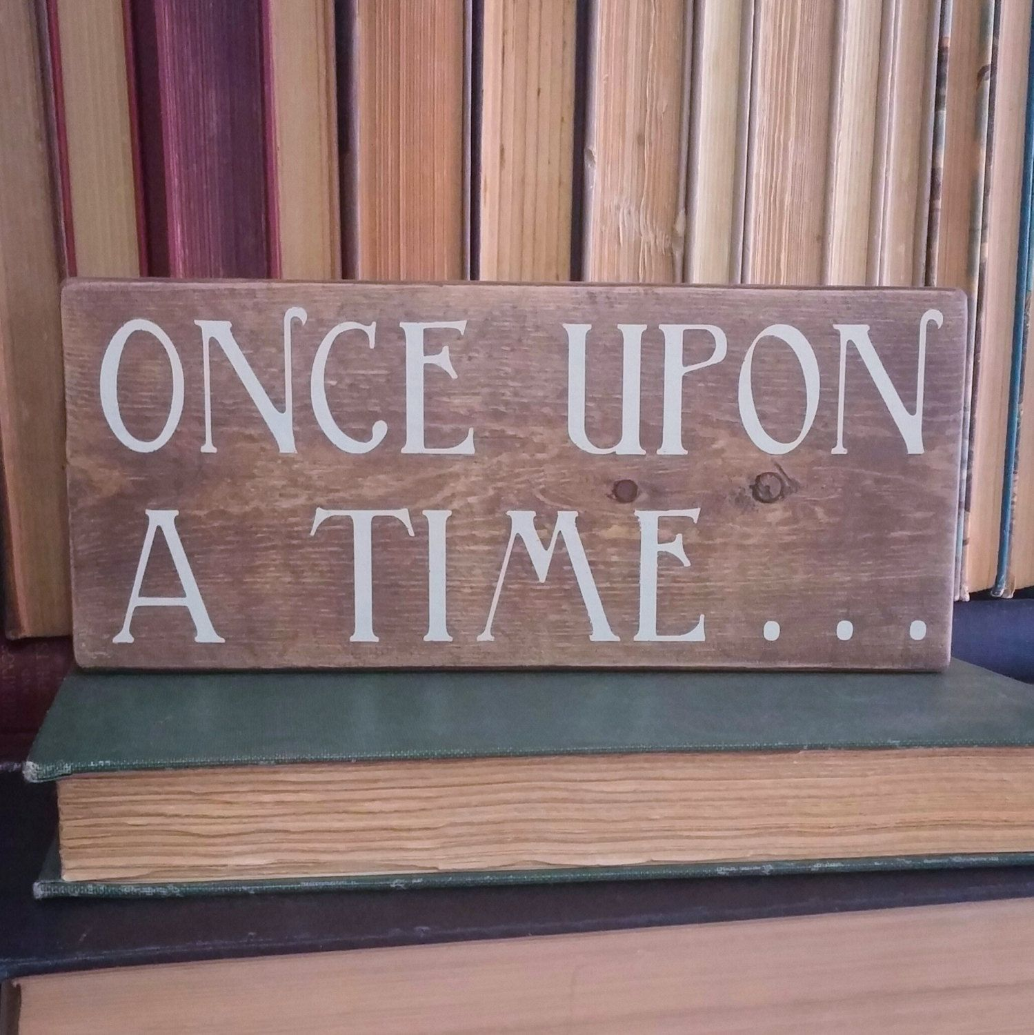 Once Upon a Time by ParLaGrace on Etsy