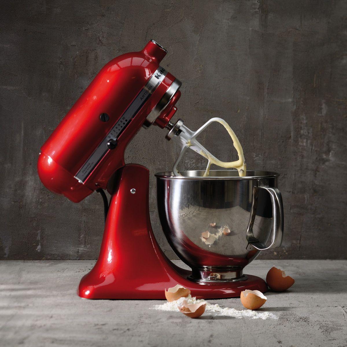 KitchenAid Artisan Küchenmaschine mit Backzutaten   Kitchenaid ...