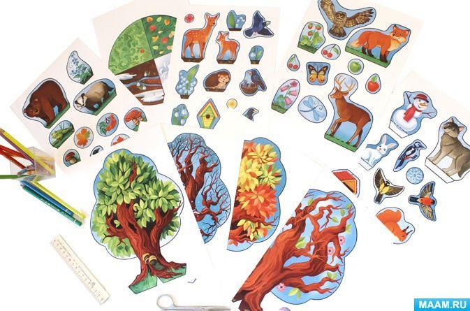 Дерево «Времена года»: все материалы для детей по теме ...