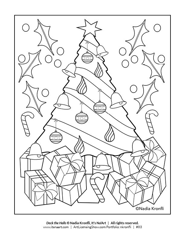 Free 92 Page Holiday Coloring Book Artlicensingshow Com Your 24 7 Virtual Art Licensing Show Holiday Coloring Book Coloring Books Christmas Coloring Pages