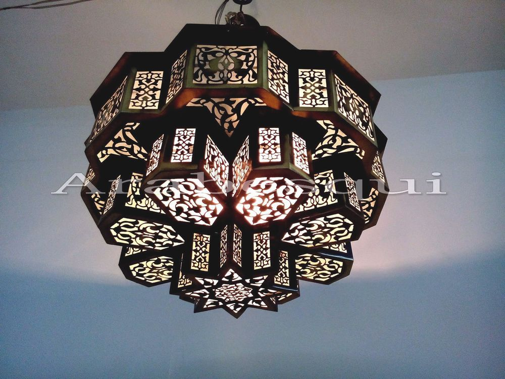 B209 three tiers brass moroccan flush ceiling fixture pendant star b209 three tiers brass moroccan flush ceiling fixture pendant star chandelier aloadofball Choice Image