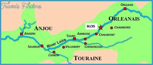 BLOIS MAP httptravelsfinderscombloismaphtml Travels