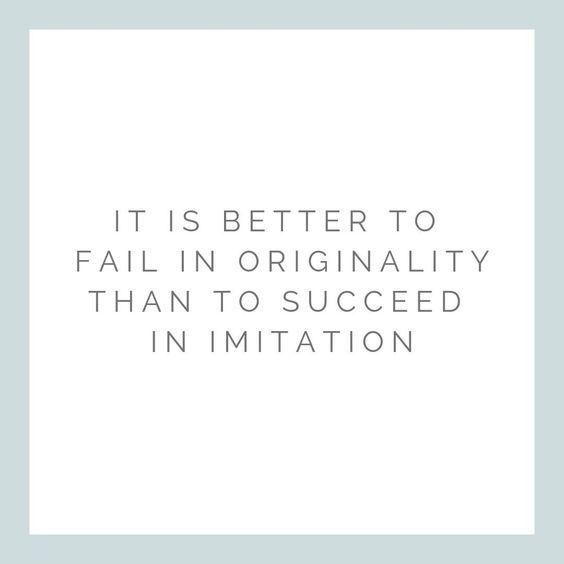 Originality!