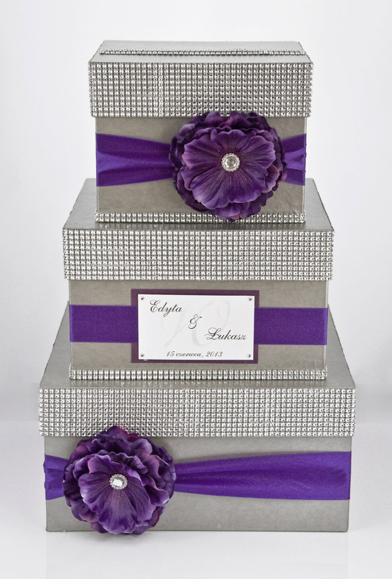 Exclusive Handmade 3 Tier Card Box With Personalized Beautiful And Original Makes An Impression On Each Dimensions 18 X 12 After