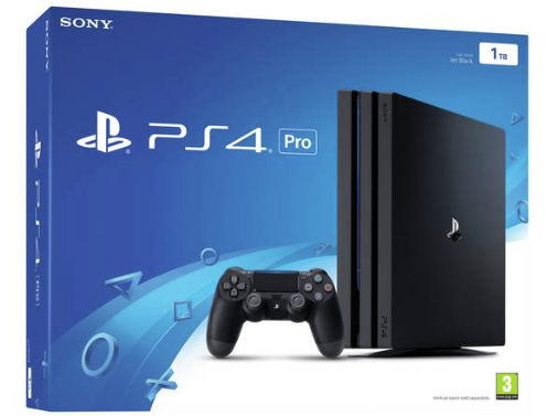 Sony Ps4 Pro 1tb Console Black Ps4 Pro Console Sony Playstation Ps4 Pro