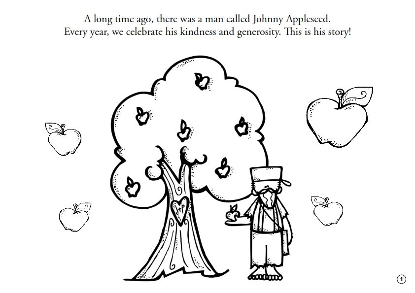 Free A Short Version Of Johnny Appleseed S Story With A Feelings Map For Children In Johnny Appleseed Activities Johnny Appleseed Holiday Classroom Activities