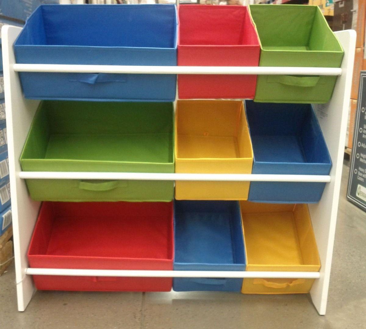 Organizador infantil caixas para brinquedos estante - Organizadores de armario ...