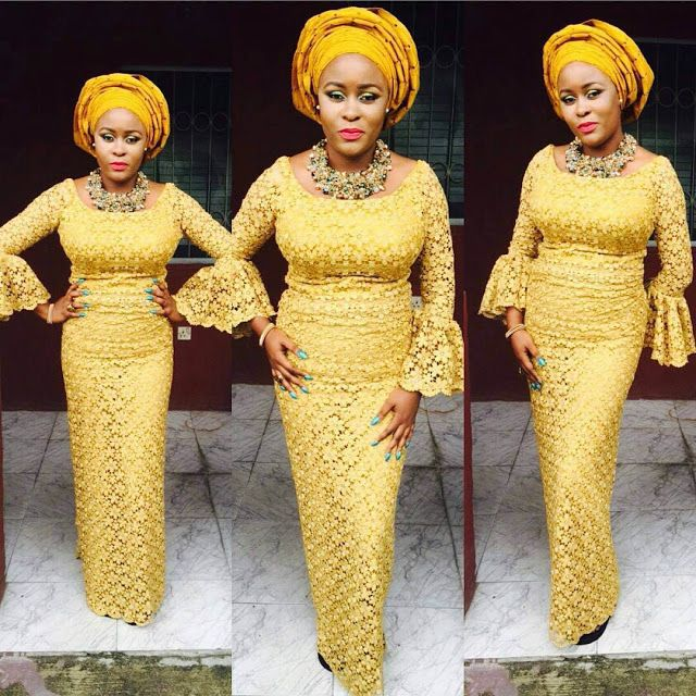 976c18a694f50 Online Hub For Fashion Beauty And Health: Lovely Iro And Buba Cord Lace  Asoebi Styles