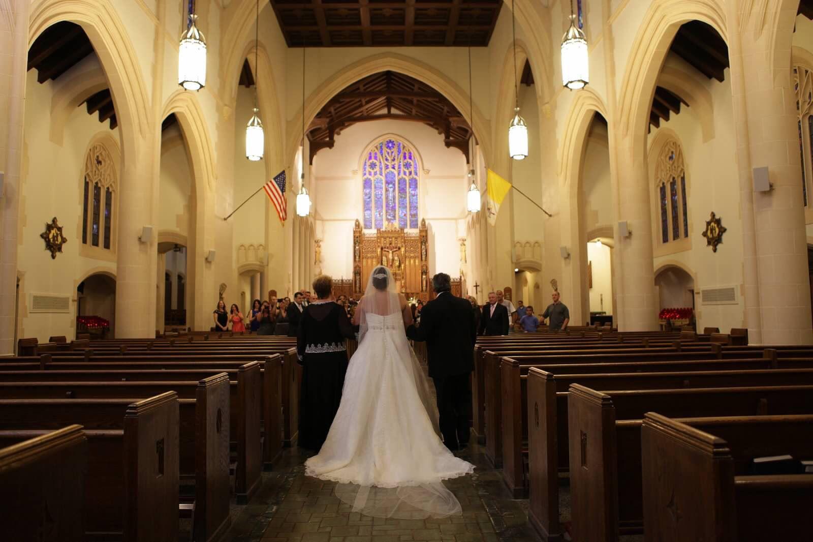 Danielle Caprese (Kleinfeld) lace wedding dress with