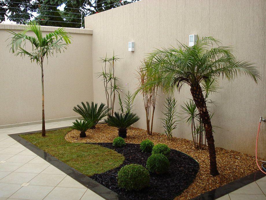 Jardim pequeno de canto de muro pesquisa google for Modelos de jardines sencillos