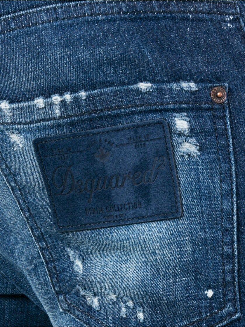 Venda Finaly Novo com etiquetas Dsquared 2 Azul Jeans Masculina Slim tamanho W36 L32