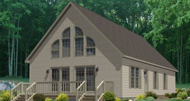 best cape cod modular home plans. I like the tall ceilings in living room  and wall of windows thats why chalet but they are so much smaller then a regular c