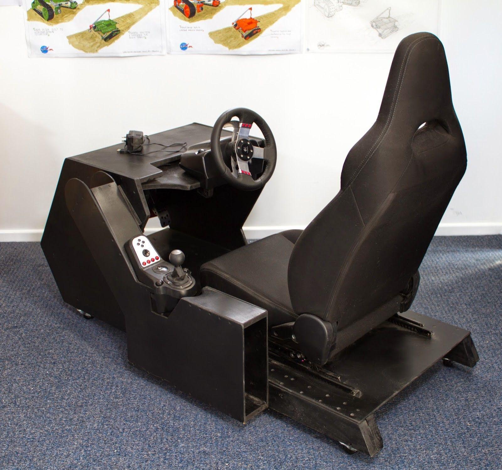 Racing Cockpit Simulator, Pencil Warriors on ArtStation at