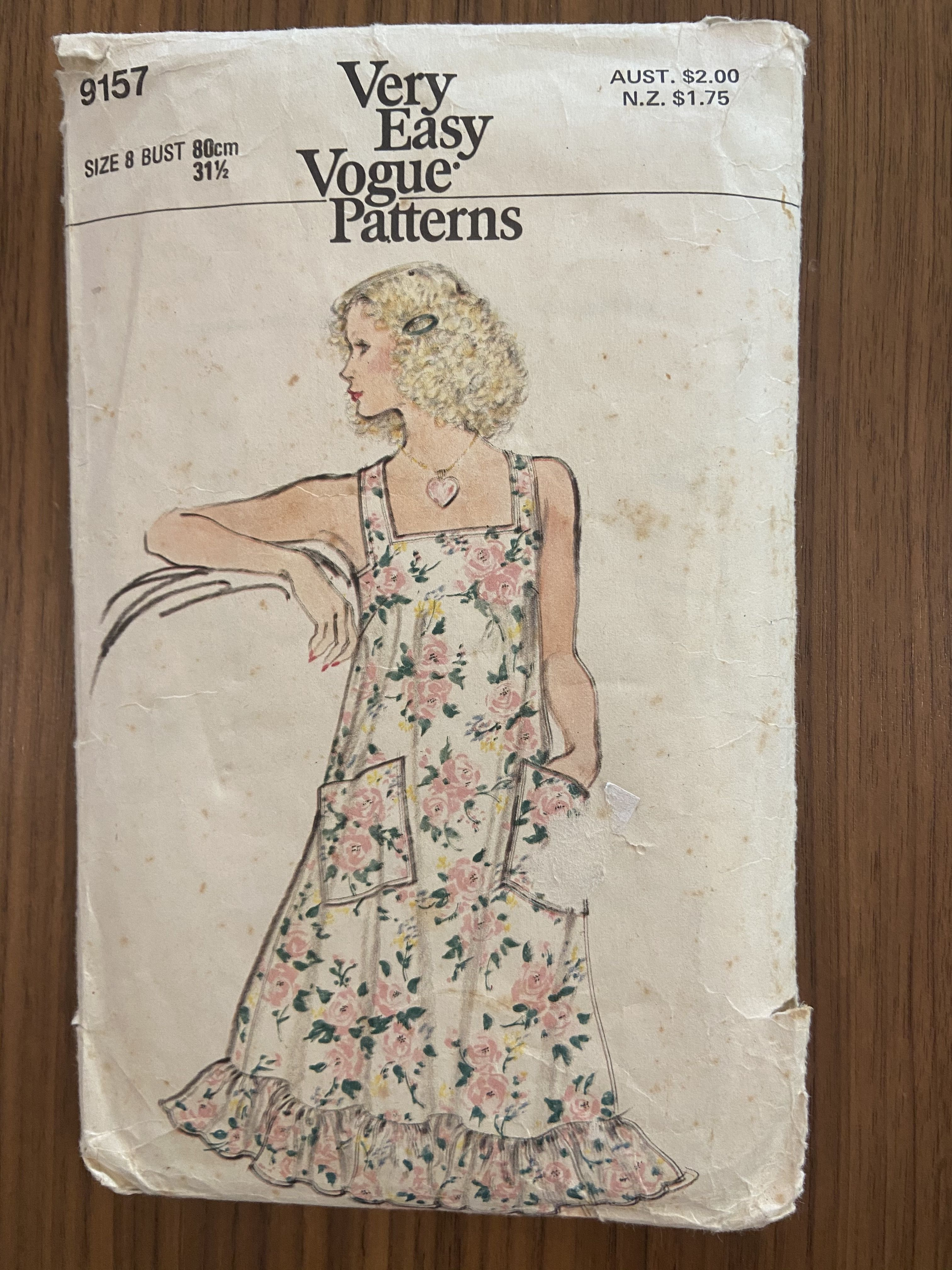 Vogue 9157 vintage 1970s dress sewing pattern for sale