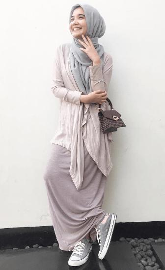Baju Muslim Zaskia Sungkar Online Baju Muslim Muslim Model