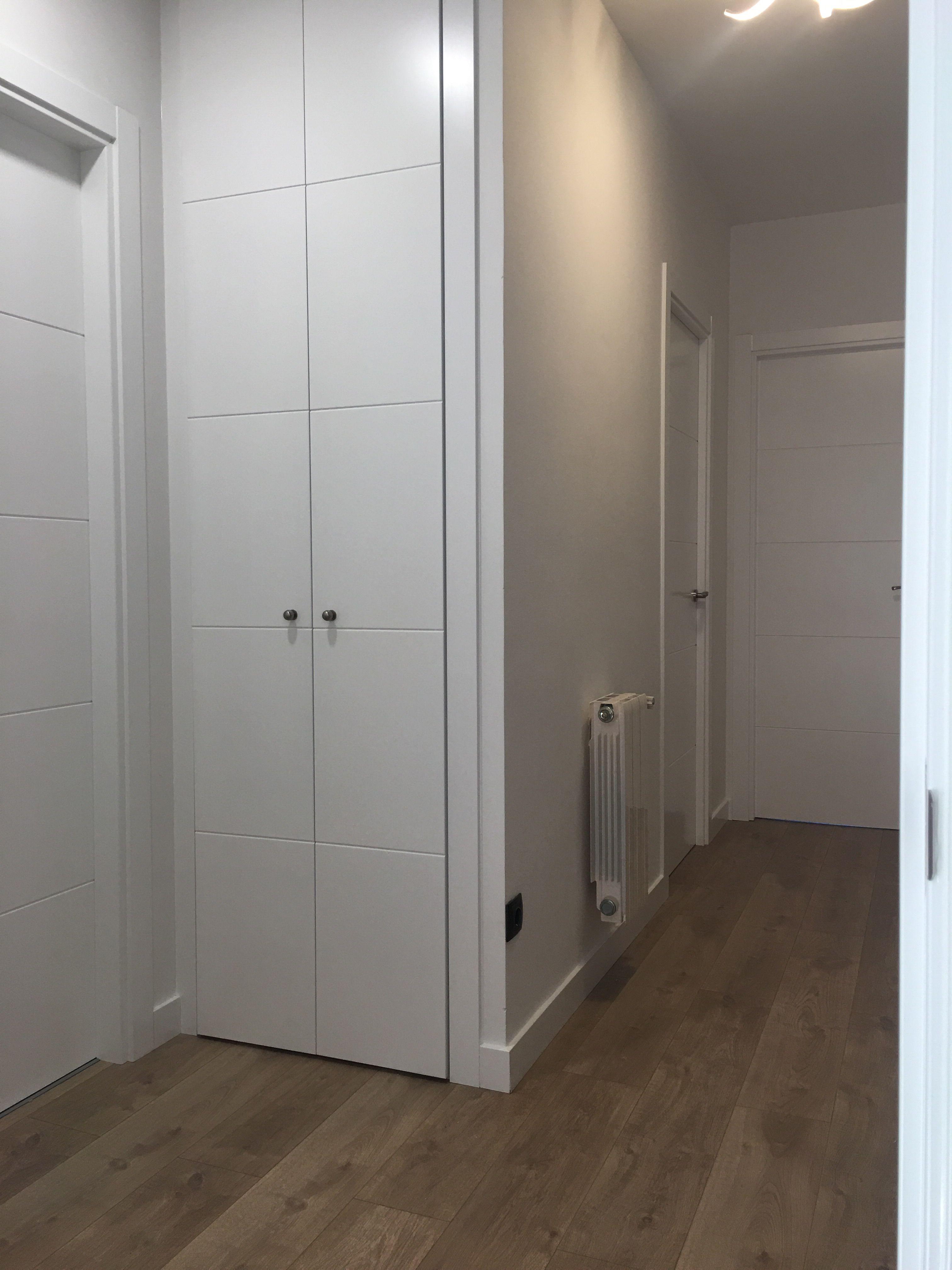 Puertas de interior en madrid trabajos realizados por karpinteria pinterest - Puertas piso interior ...