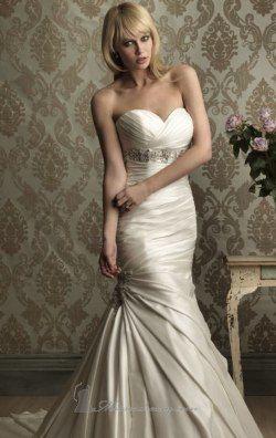 Satin Dress by Allure Bridals 8859