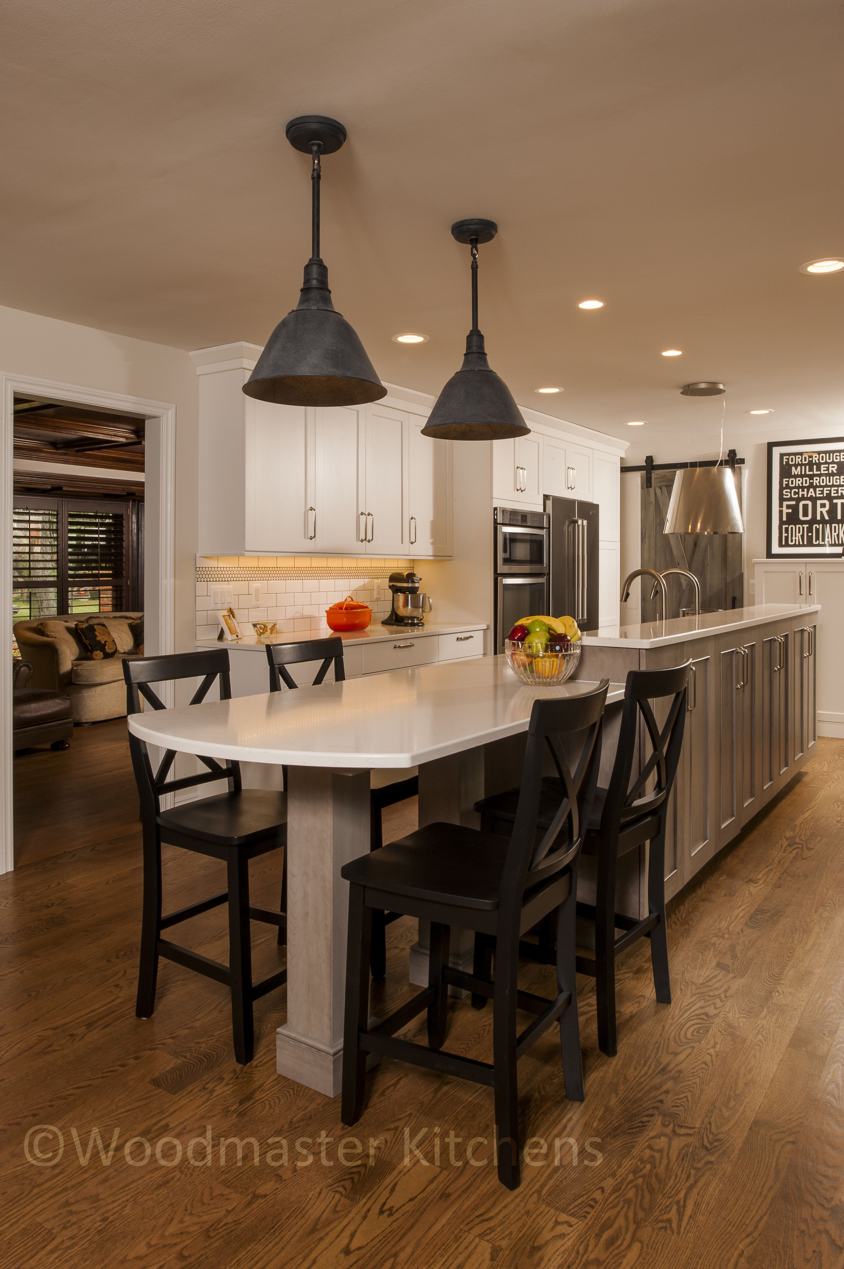 This kitchen renovation in Bloomfield Hills is full of