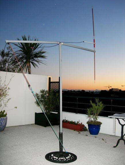 Frank S N4spp Ham Radio Home Built 80 40 20 Meters Short Dipole Antenna Kgd Kurz Geratener Dipol Ham Radio Antenna Ham Radio Radio Antenna