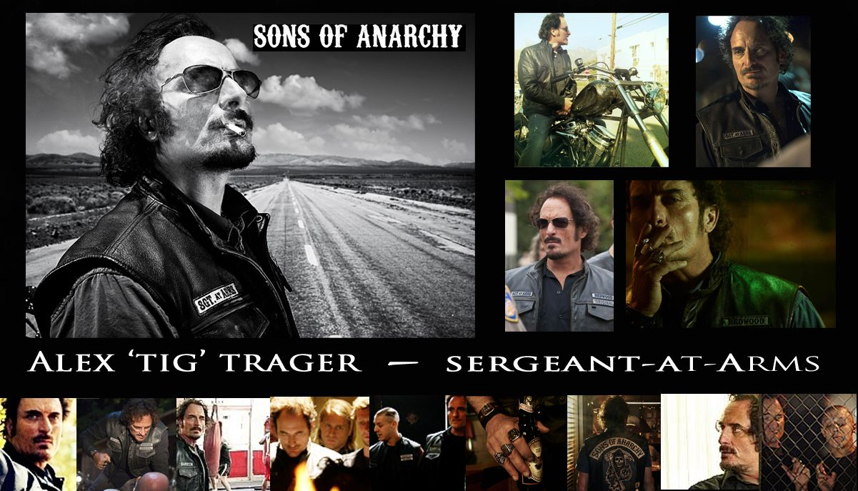 Kim Coates As Tig Trager In Sons Of Anarchy My Favorite Bad Boy Sons Of Anarchy Trager Book Tv