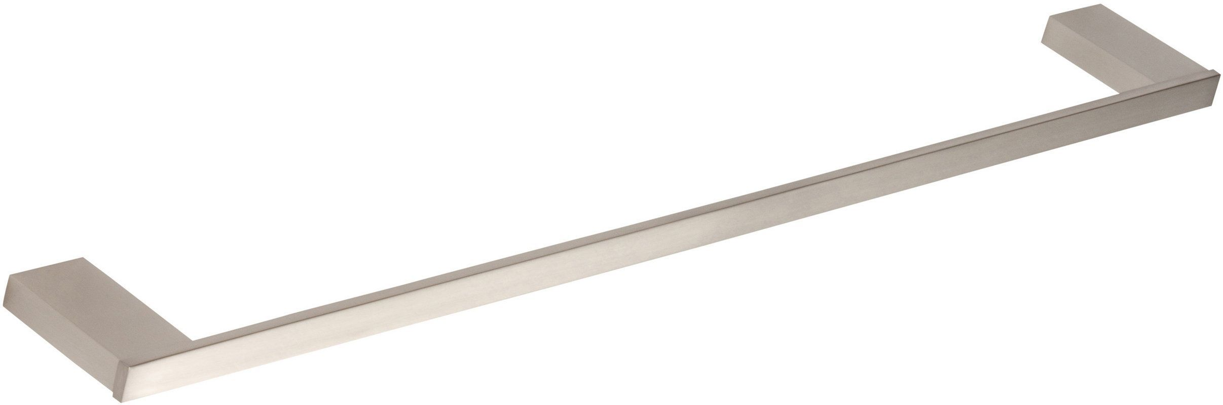 Atlas Homewares Patb450 Brn Brushed Nickel 17 Inch Towel Bar From The Parker Collection