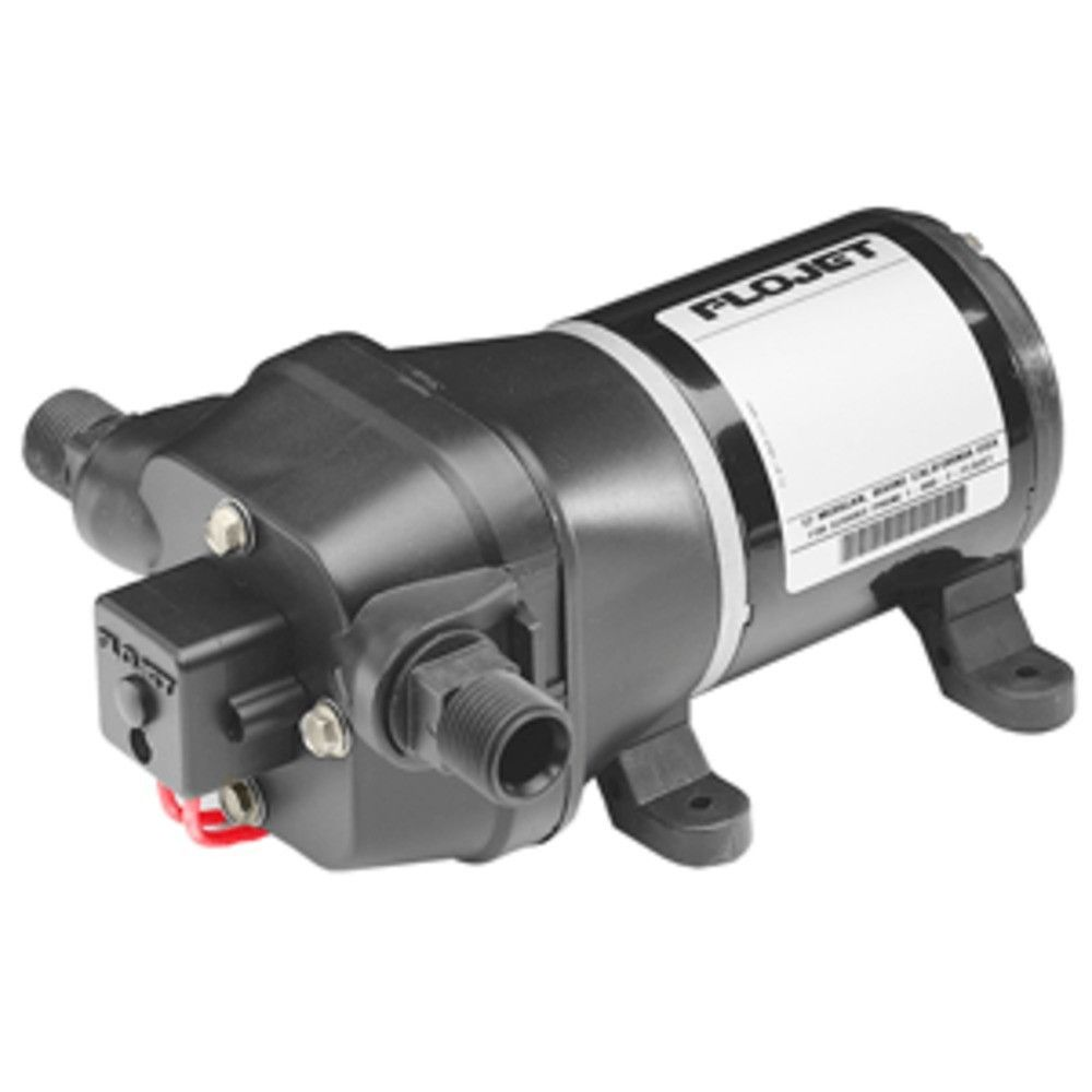 Flojet Quad Dc Water System Pump 12v 33gpm Pressure Switch Should Only Be Done On The S Pumps Self Primes Up To 24m Vertical Lift Four Piston Design Delivers Higher Flow Rates