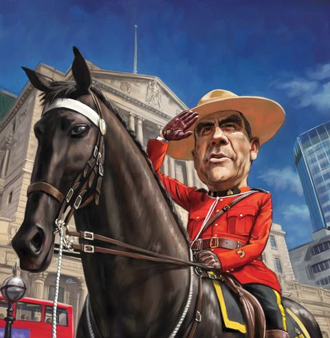 'Can a Canadian save Britain? Mark Carney takes the reins': The Week, 6 July 2013