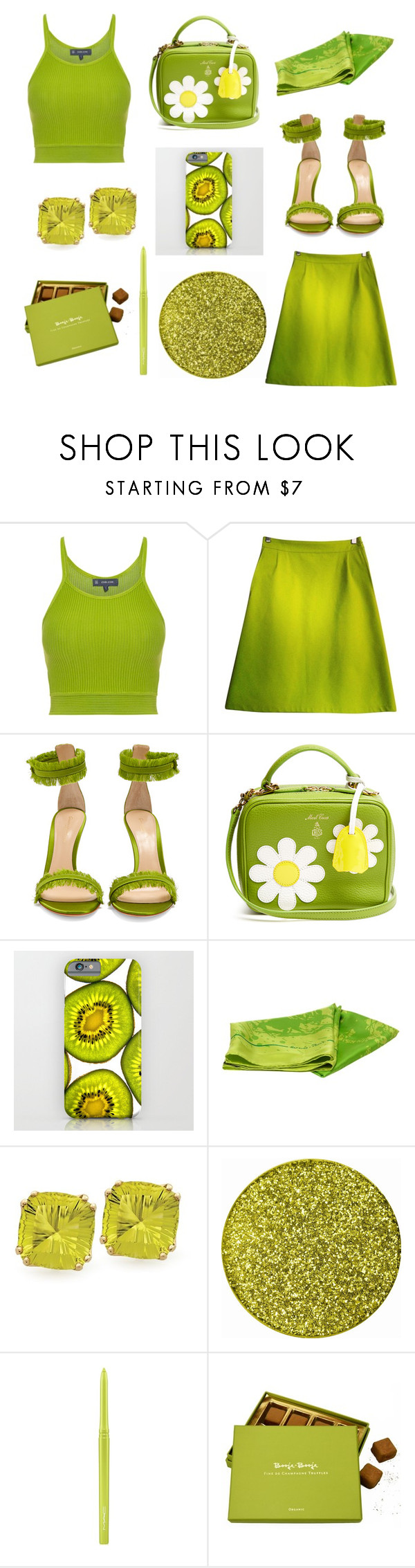 """""""Untitled #86"""" by lopayne14 ❤ liked on Polyvore featuring Gianvito Rossi, Mark Cross, Hermès and MAC Cosmetics"""