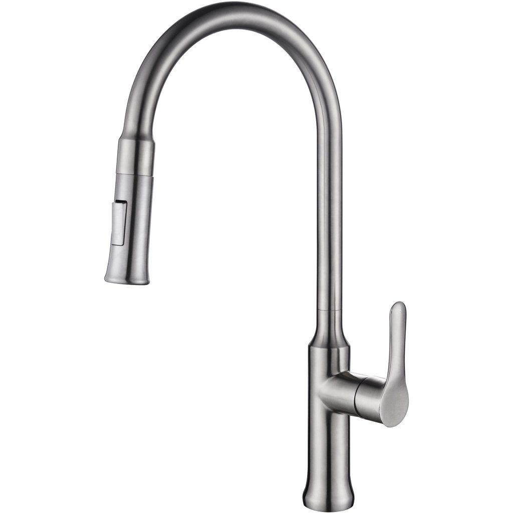 Lily Single Lever Pull Down Faucet Faucet Kitchen Bath Bath