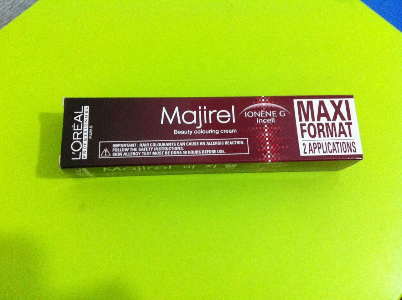 3 X L\'Oreal Loreal Majirel Hair Permanent Color 100Ml ( Tracking ...