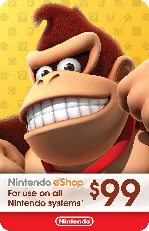 Nintendo Prime Giveaway: $99 eShop Gift Card