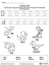 Image result for letter d worksheets for preschool kids activities image result for letter d worksheets for preschool thecheapjerseys Image collections