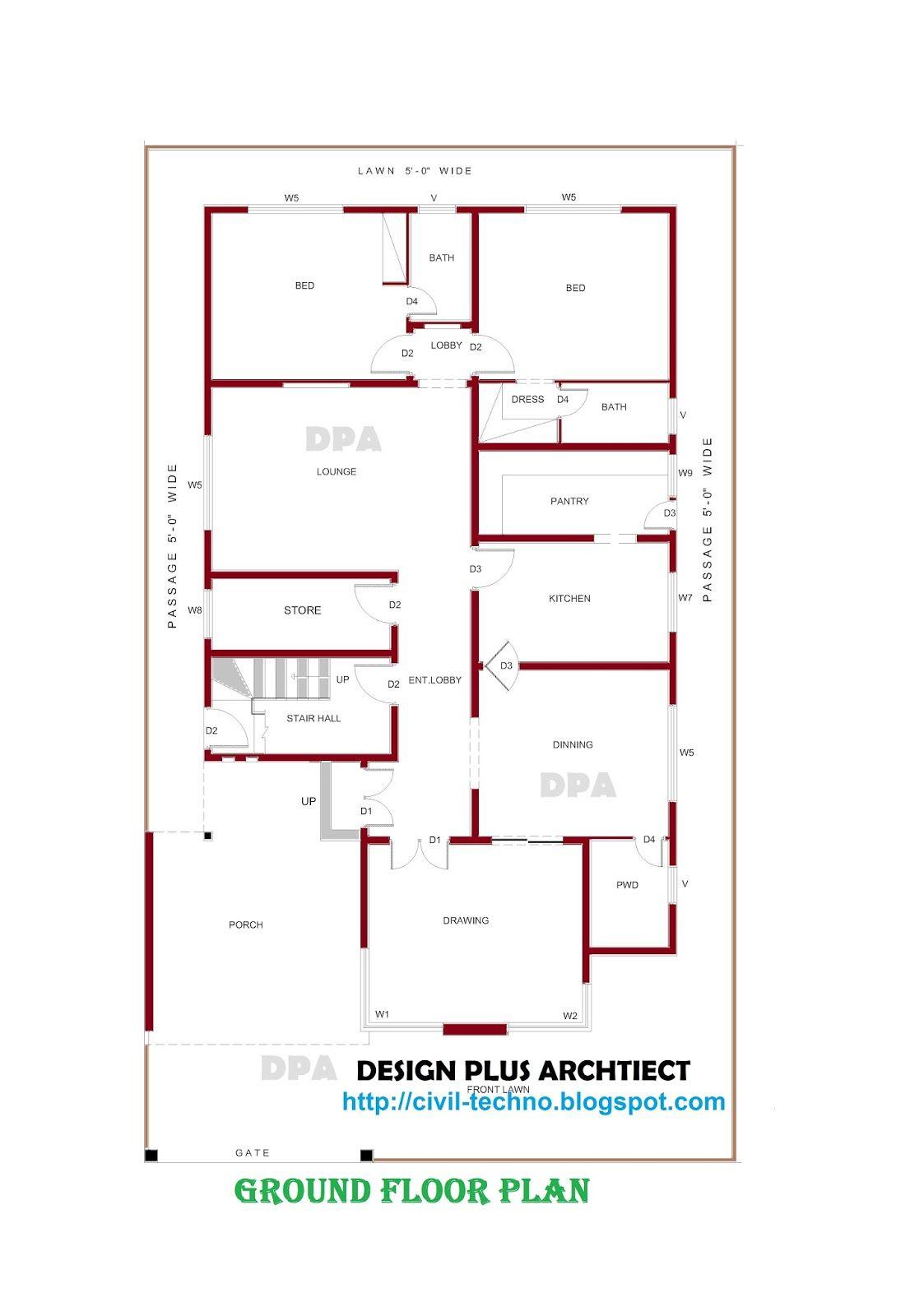 Home Plans Pakistan Decor Architect Designer Mountain Designs Modern Design