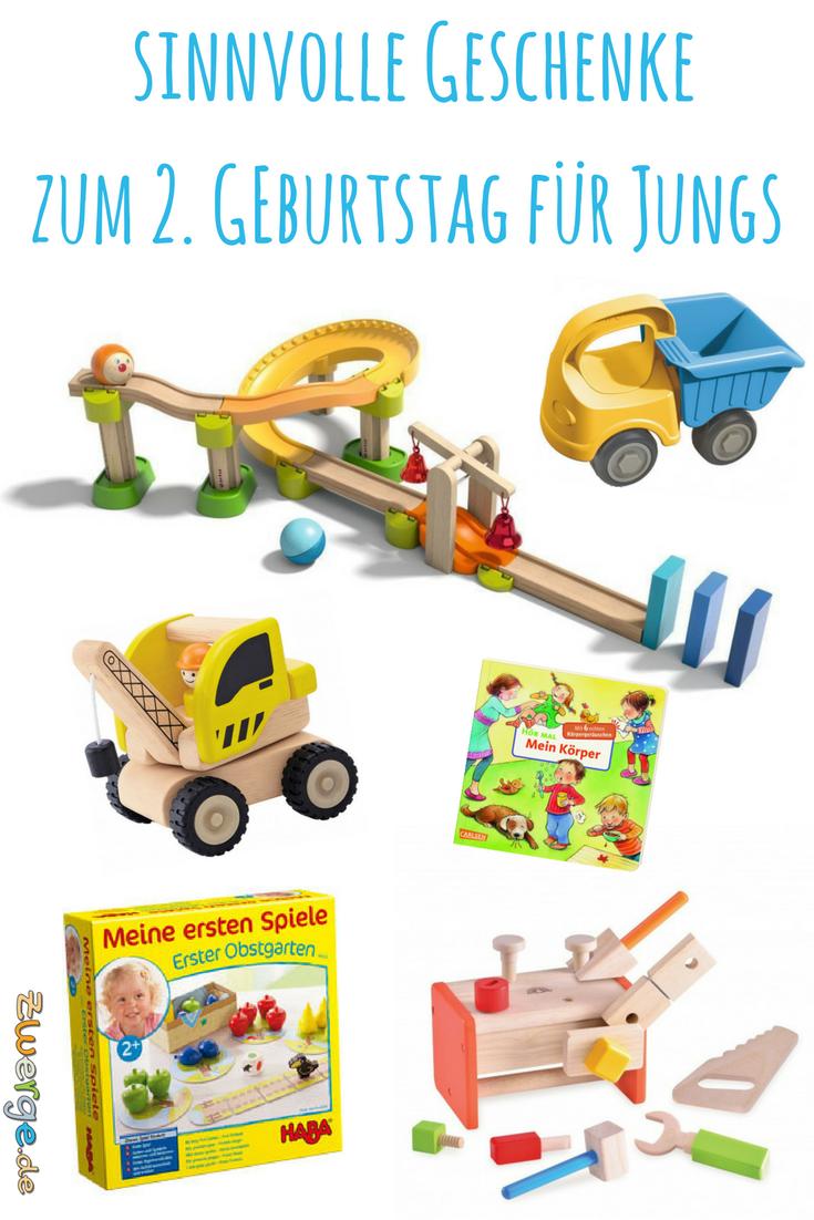 Du brauchst ein Geburtstagsgeschenk für einen 2-jährigen Jungen ...