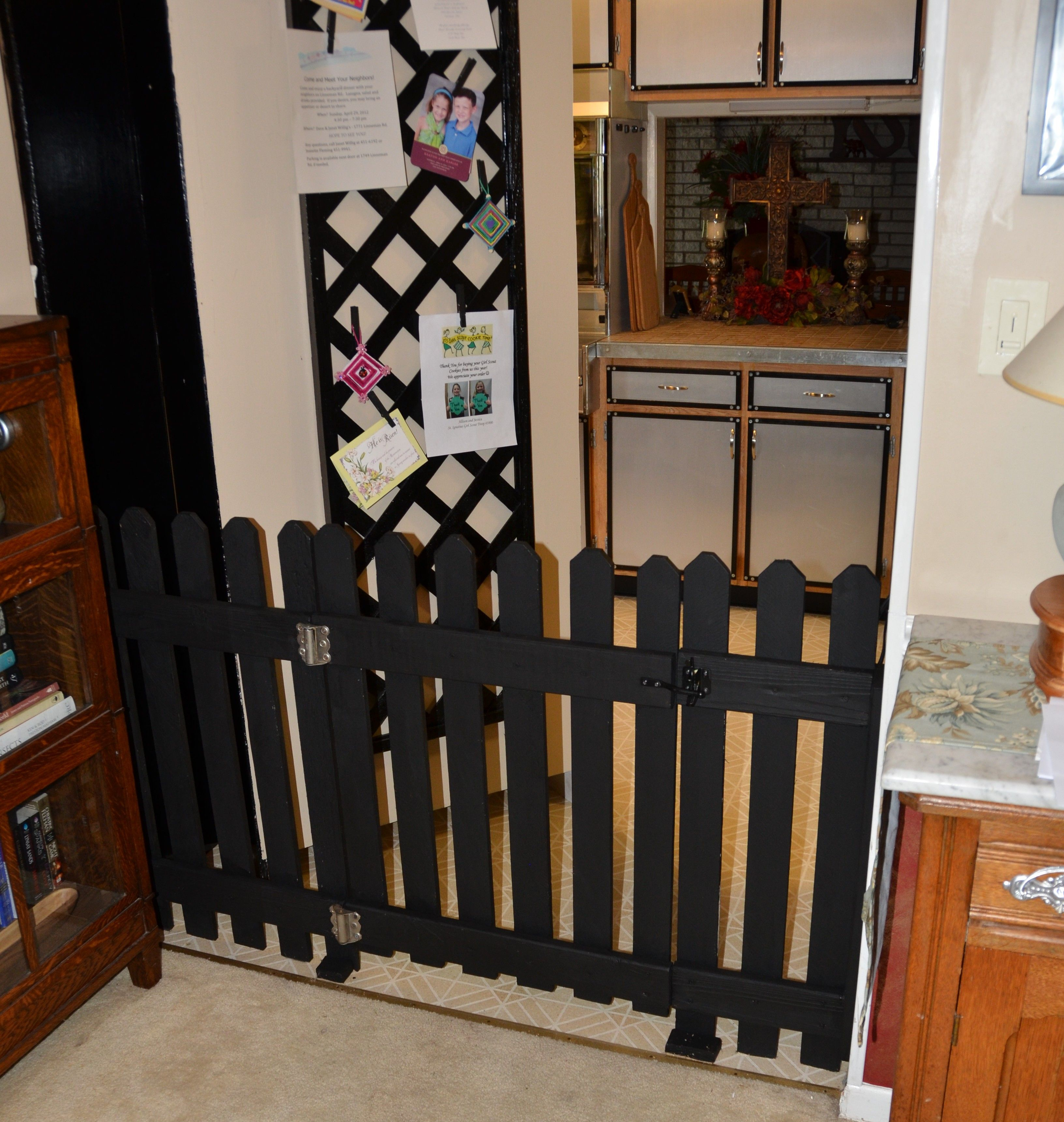 hand crafted dog gate why buy a 70 00 one when you can make your