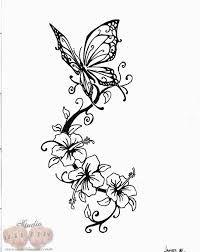 Bildergebnis Fur Schablonen Zum Ausdrucken Ornamente Tattoo Blumen Und Schmetterlinge Blumen Tattoo Vorlage Schmetterling Tattoo Vorlage