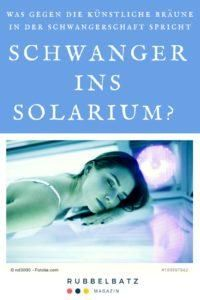 Schwanger Solarium