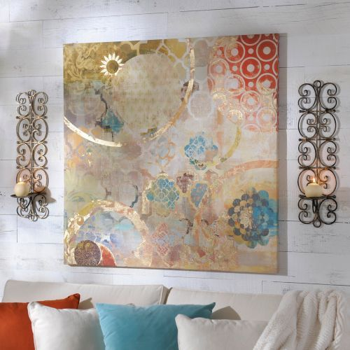 Festival Canvas Art Print  Living Room room colors and