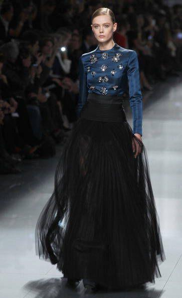 best service 93739 c7d67 Gonna in tulle nero Dior | black | Stile di moda, Gonne e ...
