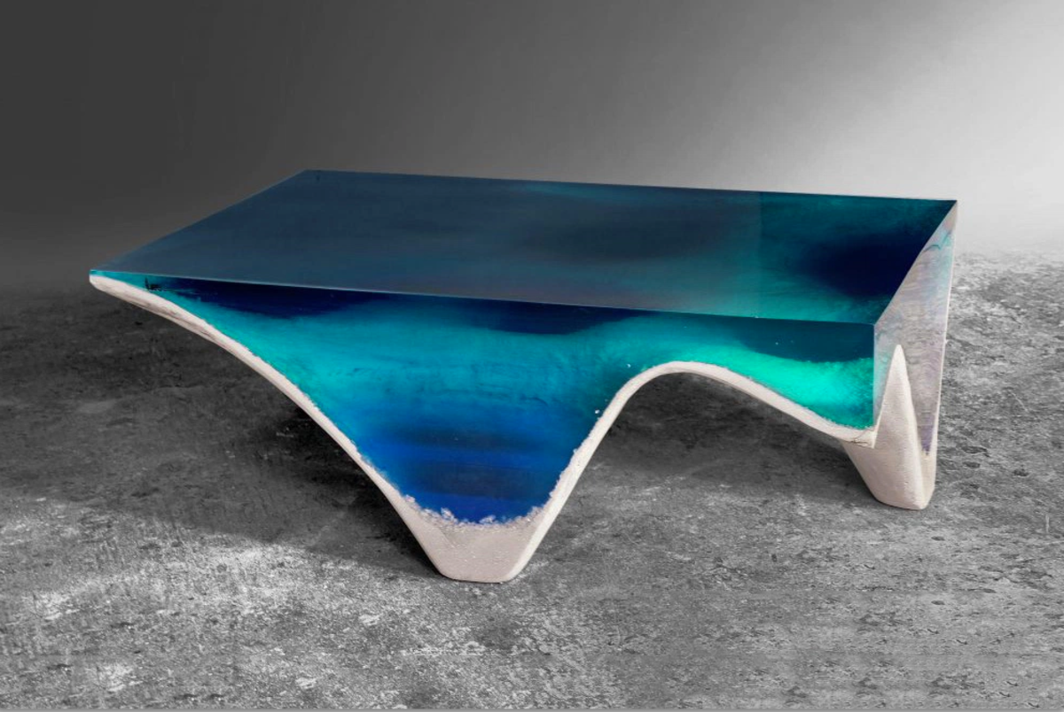 This Mind Blowing Coffee Table Looks Like A Tropical Sea Unique