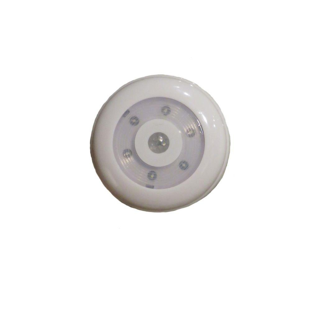 Aa battery operated indoor motion sensing led anywhere light